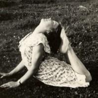 Inger Kjeldbjerg, cirka 1937.