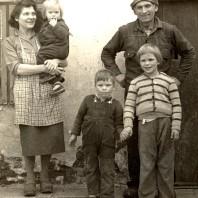 Inger, Lisbeth,Thor Bjørn, Peter og Lone Lambertsen, 1962.