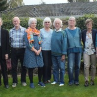 Stig K., Zenna K., Jakob Lambertsen, Lars Lund, Ole Lund, Lone Lambertsen, Elin Mortensen, Niels Lund, Lisbeth Lambertsen, Dorte K. Bak, Hanne K., Lars K. Jørgensen, Else K. (K=Kjeldbjerg)
