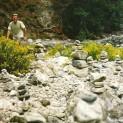 Fra Samaria-vandringen: Denne mand fór rundt som en gal og byggede høje varder.