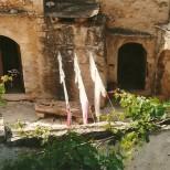 En del af komplekset, hvor Steen havde sit værksted.