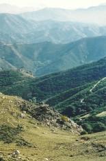 Udsigt fra Kefali - mod øst, mod De Hvide Bjerge.