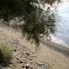 Stranden neden for Mirtos.
