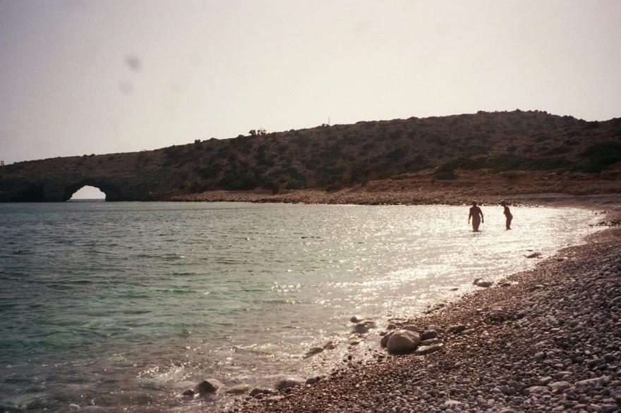 Gavdos er Europas sydligste ø, og Tripiti er Europas sydligste strand.