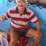 Han fangede fisken, tilberedte den og gjorde garnene klar til ny fangst.