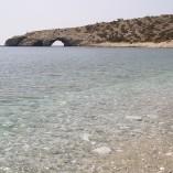 Den meget markante sydspids og det skønneste badevand - Tripiti.