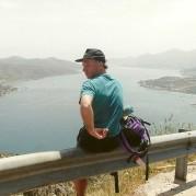 Udsigt over øen Spinalonga, halvøen Spinalonga og Plaka.