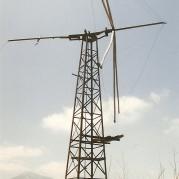 Der var mange vindmøller som denne.