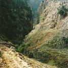 En kendt ravine og en kendt bro - Aradena.