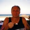 September 1999: Morgenmad i Rethymnon, forsøger at holde en stemning oppe.