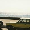 Juli 2002: Legestund oven for den vestlige strand ved Paleohora.