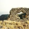 Dekorativ ruin på en sti mellem Aradena og Phoenix/Loutro.