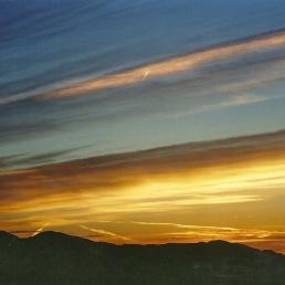 Belønningen for at stå tidligt op: Alle disse farver på himlen.