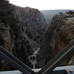 Udsigt fra Aradhena-broen.