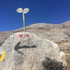 22. september. På vej op mod toppen af Psiloritis – og af Kreta.