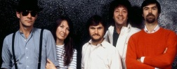 Steeleye Span 1984: Rick Kemp, Maddy Prior, Nigel Pegrum, Bob Johnson og Peter Knight.