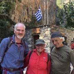 Igennem Samaria, for et par af os for første gang (17. september). Foto: Anne Wollter