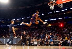 Glenn Robinson i NBA:s allstar tillställning. Kan han flyga?!?