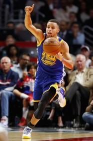 Stephen Curry skapar vinnande vägar för sitt lag...
