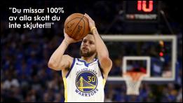 Stephen Curry - den bäste 3 poängskytten i NBA