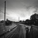 Tram stop, Göteborg, Sweden