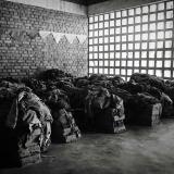 Genocide memorial in Nyamata, Rwanda