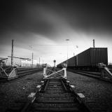 Railway yard, Sweden