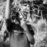 Child with firewood II, Uganda