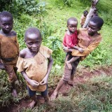 Kids in Kasenda, Uganda