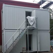 Aluminiumtrappa-container