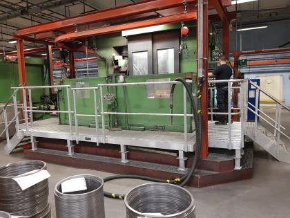 Rymliga arbetsplattformar i aluminium för förbättrad arbetsmiljö