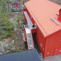 Loftgång och trappa aluminium