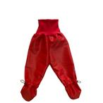 Busbyxan Baby röd/röd