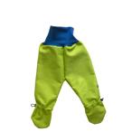 Busbyxan Baby grön/blå