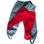 Syskonpaket ljusgrå/röd med ljusgrå mudd