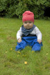 Busbyxan Baby blå/blå