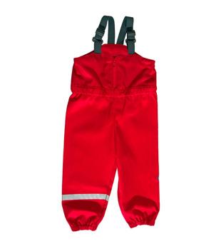 130 cl röd Busbyxan PLUS - Röd