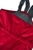 Busbyxan Plus / Vinter, röd, 120 cl, detalj blixtlås 1.