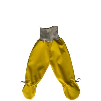 Busbyxan Baby gul/ljusgrå mudd - Busbyxan Baby gul/ljusgrå