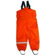 130 cl orange Busbyxan PLUS - Orange med fotresår