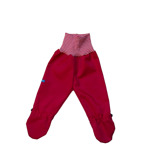 Busbyxan Baby röd/röd-vit-randig