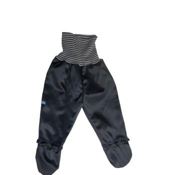 Busbyxan Baby svart/svart-grå-randig - Busbyxan Baby svart/svart-grå-randig