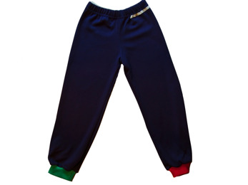 Byxa Blå, Röd & smaragdgrön (utan fot)
