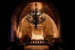Altaruppsatsen i koret är byggd i tre våningar och är från 1652. Foto: Martina Karlsson