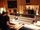 Inspelning pågår! Pama Records Kristianopel. Foto: Wiggo Ehrsköld