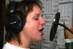 Anna Lindberg, skivinspelning, Pama Records Kristianopel! Foto Martina Karlsson