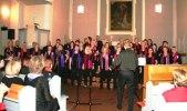 Heliga Kors Gospel i Michaeliskyrkan i Kiel 2 maj. Foto: Martina Karlsson