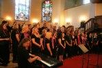 Heliga Kors Gospel och Gospolitans i Matthäeuskyrkan i Winterhude, Hamburg 3 maj. Foto: Martina Karlsson