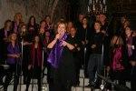 Anna Lindberg på jubileumskonserten september 2010. Foto Martina Karlsson