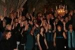 Rejoice och Heliga Kors Gospel under gemensam konsert mars 2010. Foto Martina Karlsson